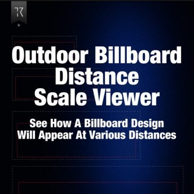 Outdoor Billboards Distance Scale Viewer