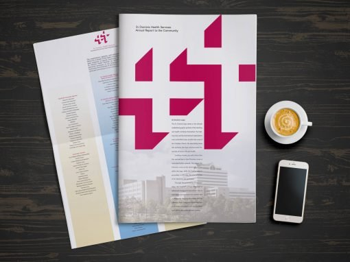 St. Dominic Health Services Annual Report Design