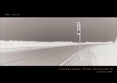 Crossroads Film Festival Brochure Design