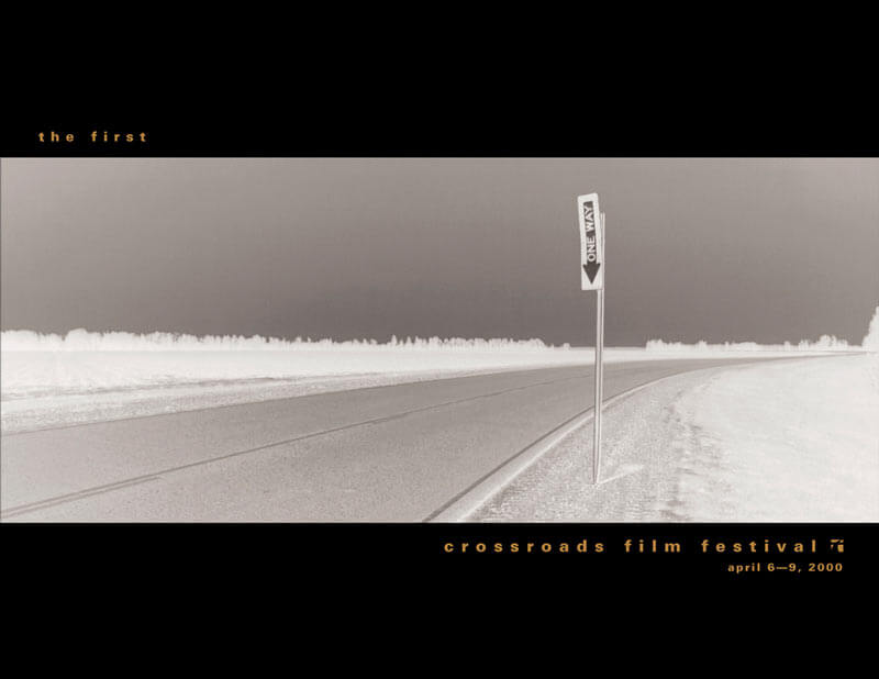 Crossroads Film Festival Brochure Design