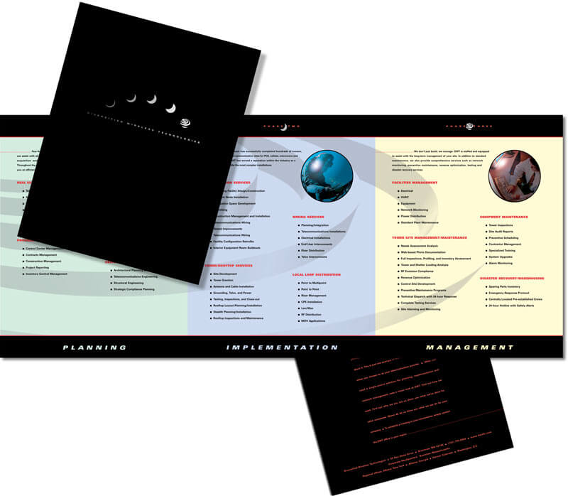 Diversified Wireless Brochure Design