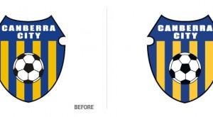Canberra City Football Club Logo Conversion