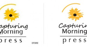 Capturing Morning Press Logo Conversion