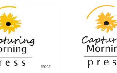 Capturing Morning Press Logo Conversion