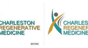 Charleston Regenerative Medicine Logo Conversion