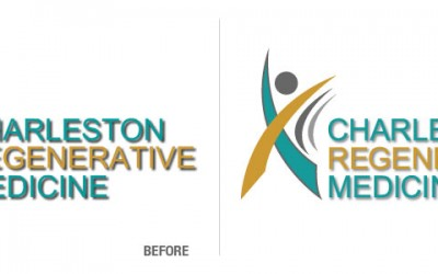 Charleston Regenerative Medicine Logo Conversion