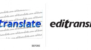 Editranslate Logo Conversion
