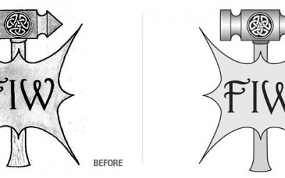 Ferrin IronWorks Logo Conversion