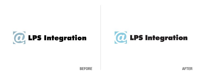 LPS Integration Before and After Logo Conversion