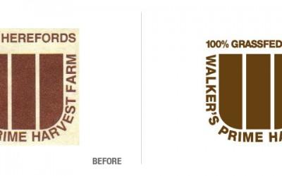 Walker's Prime Harvest Farm Logo Recreation