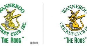 Wanneroo Cricket Club Logo Conversion