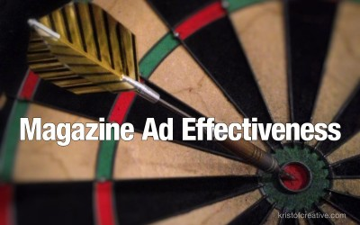 Magazine Ad Effectiveness. Proven tips on how to improve the effectiveness of magazine print advertising.
