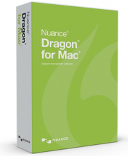 Dragon for Mac Speech recognition software