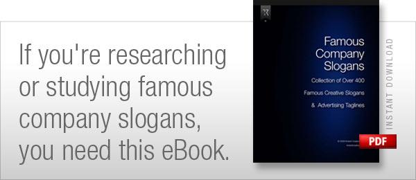 Famous Company Slogans eBook