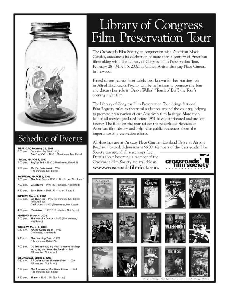 Film Festival Flyer Design