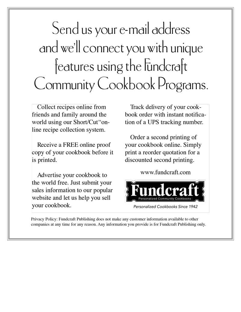 Fundcraft Publishing Flyer Design - Back