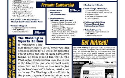 Sports Edition Network Flyer Design