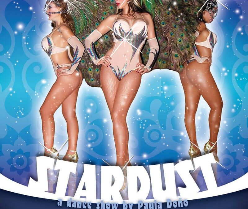 Stardust Dance Show Flyer Design