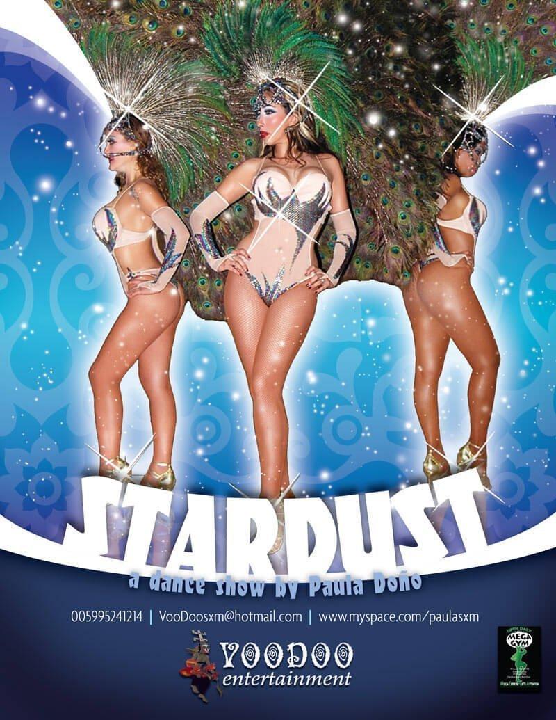 Stardust Dance Show Flyer Design