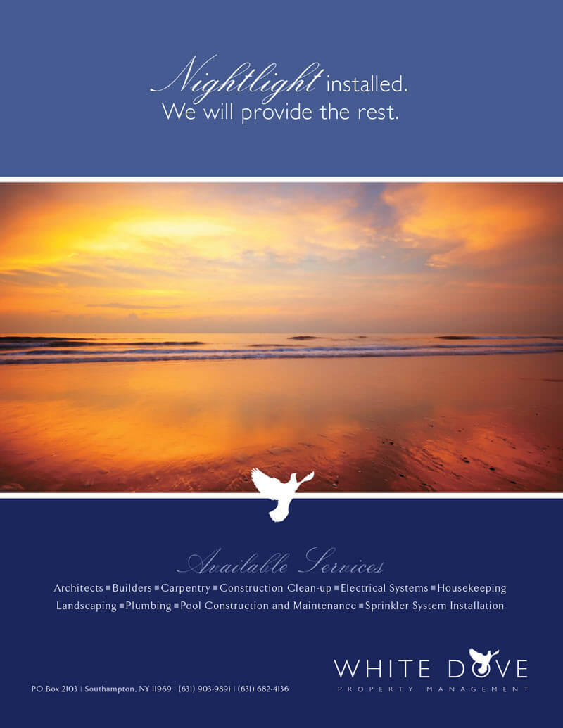 White Dove Property Management Flyer Design