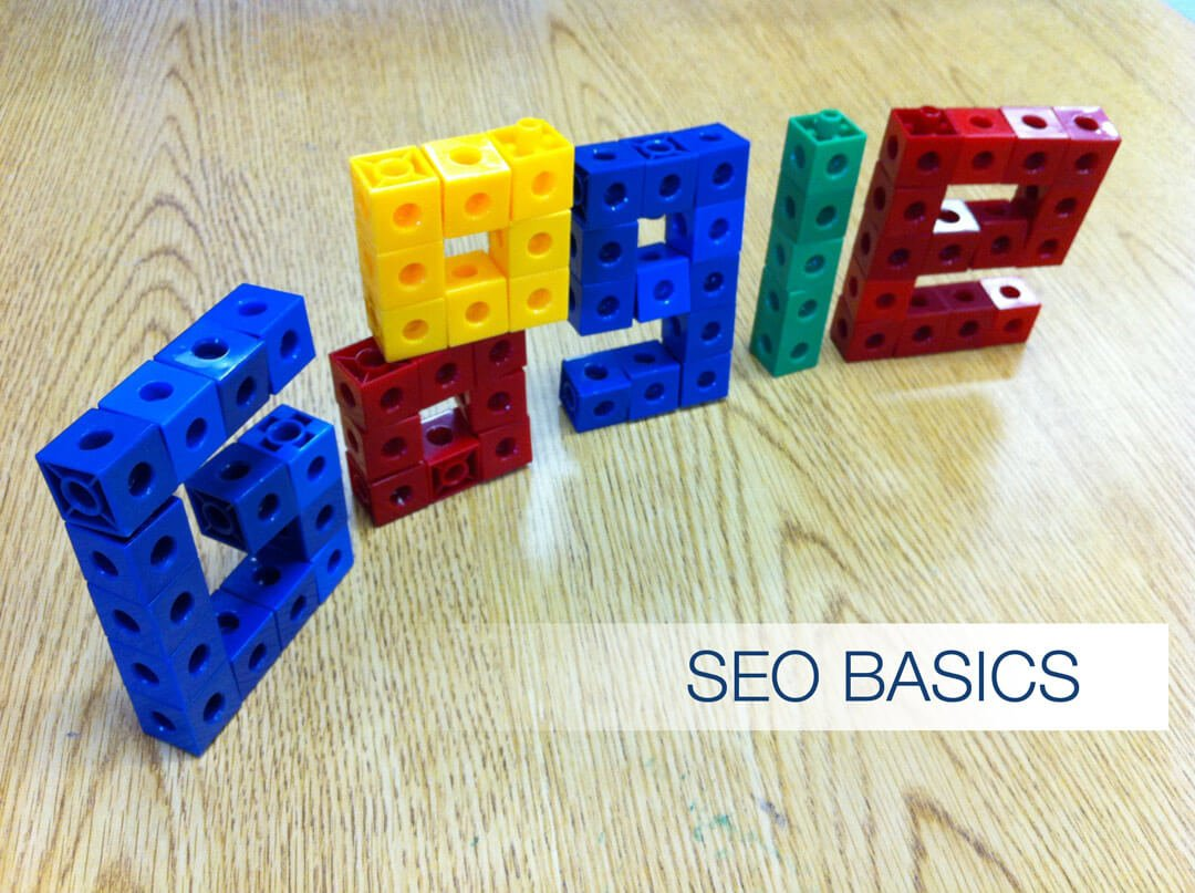 Colored toy building blocks spelling Google