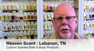Heaven Scent Custom Scented Bath and Body Products