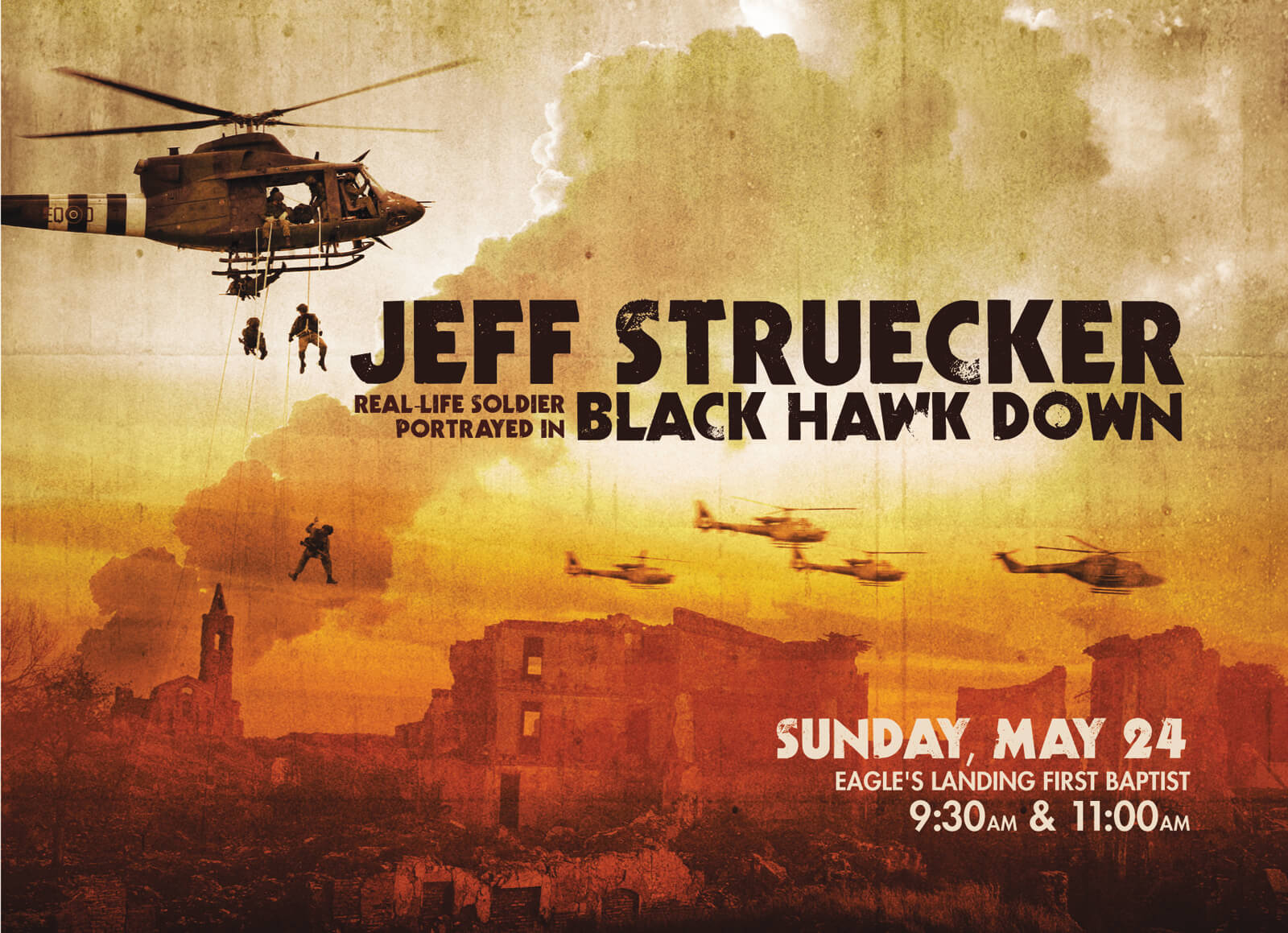 Jeff Struecker Black Hawk Down