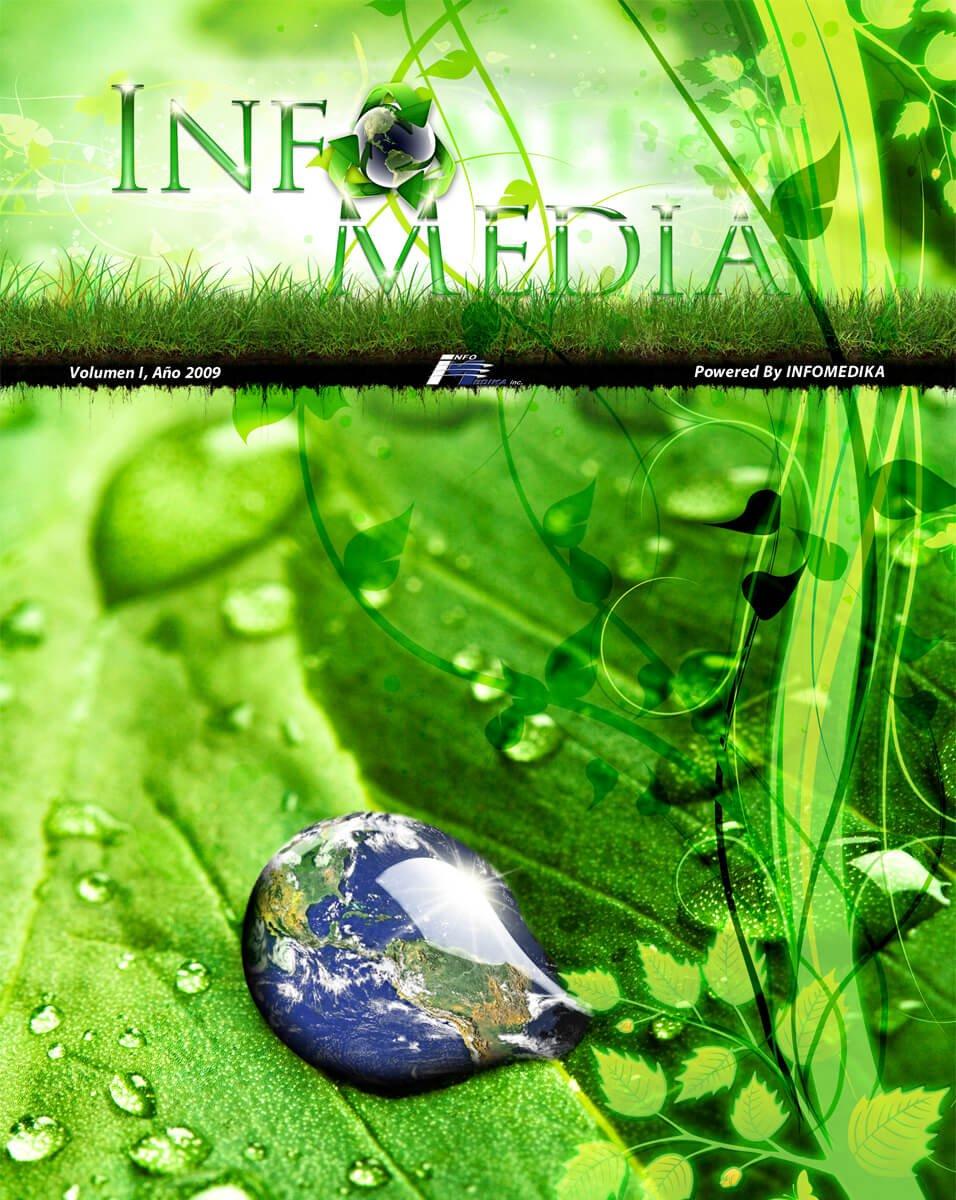 Info Media Cover Design