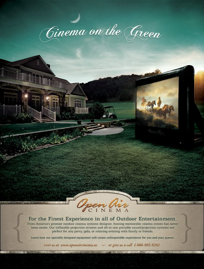 Cinema on the Green by Swivelhead_Design