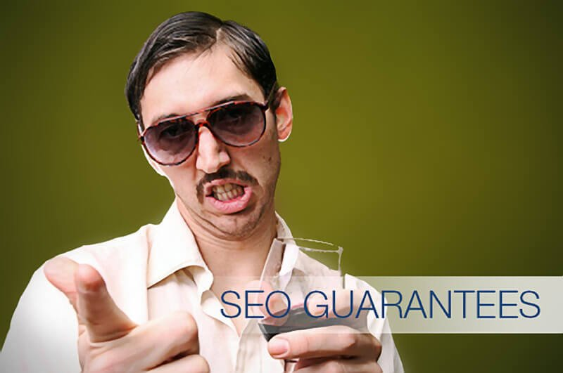 Sleazy SEO Guarantees Salesman