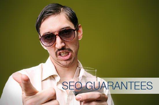 Sleazy SEO Guarantees Salesman
