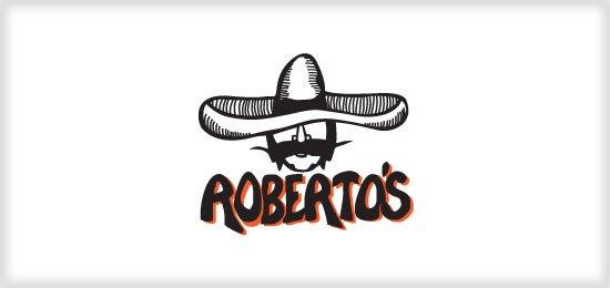 Roberts Taco Shop Logo