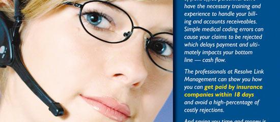 Medical Billing Flyer Design