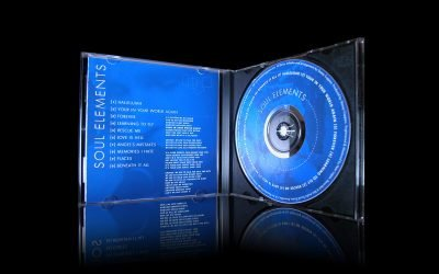 Soul Elements CD Music Packaging Design
