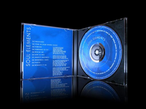 Soul Elements CD Music Packaging Design