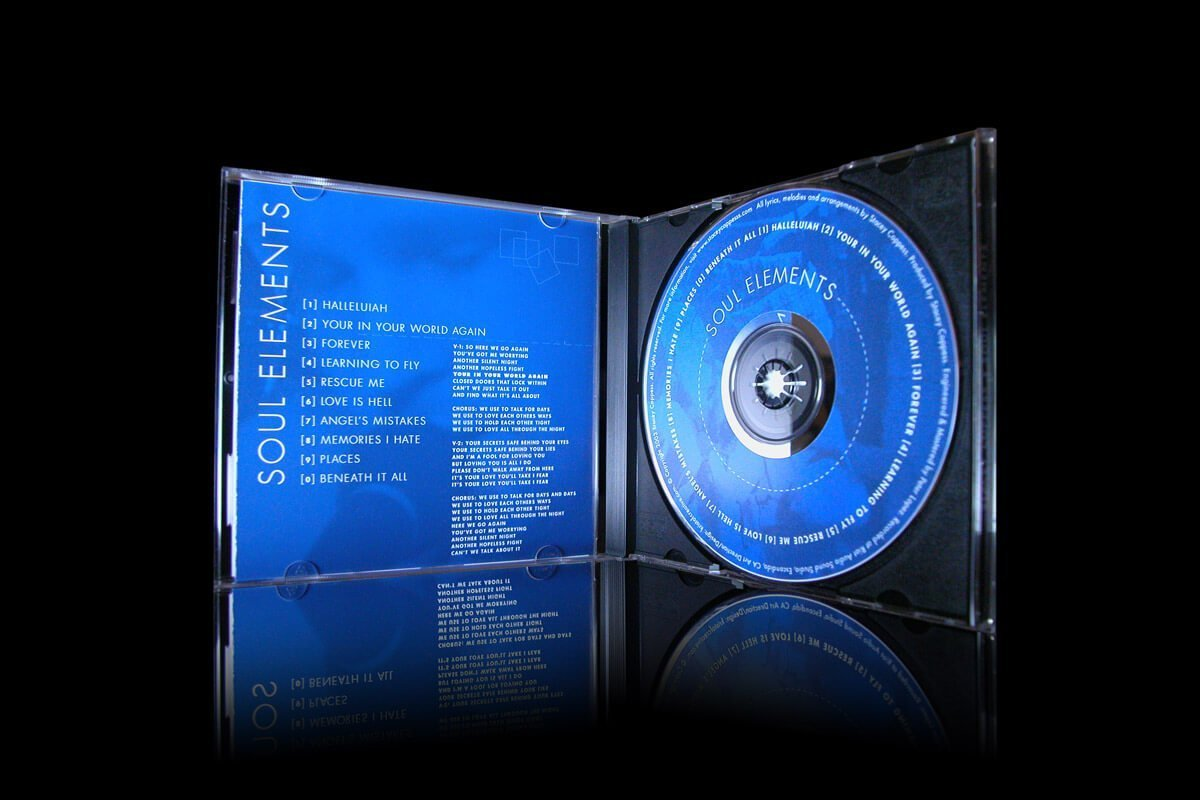 Soul Elements CD Jewel Case - Music CD and Insert
