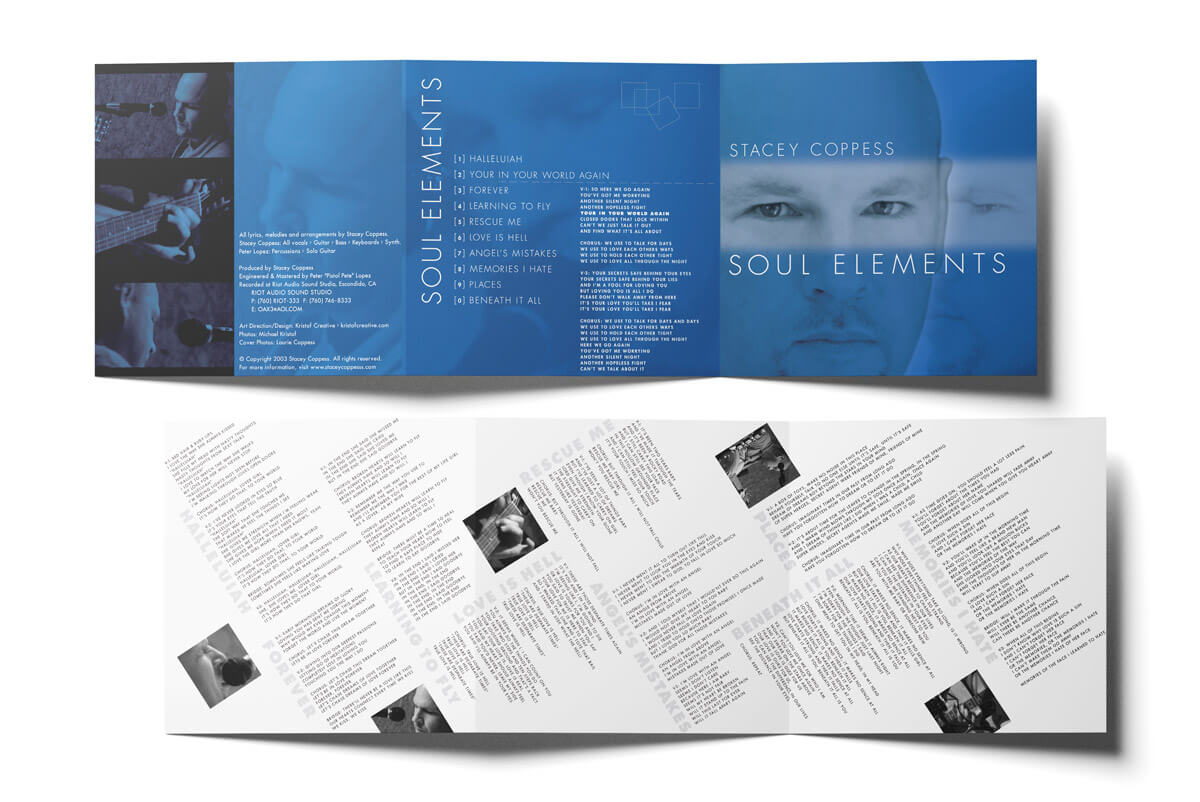 Soul Elements CD Jewel Case - Insert