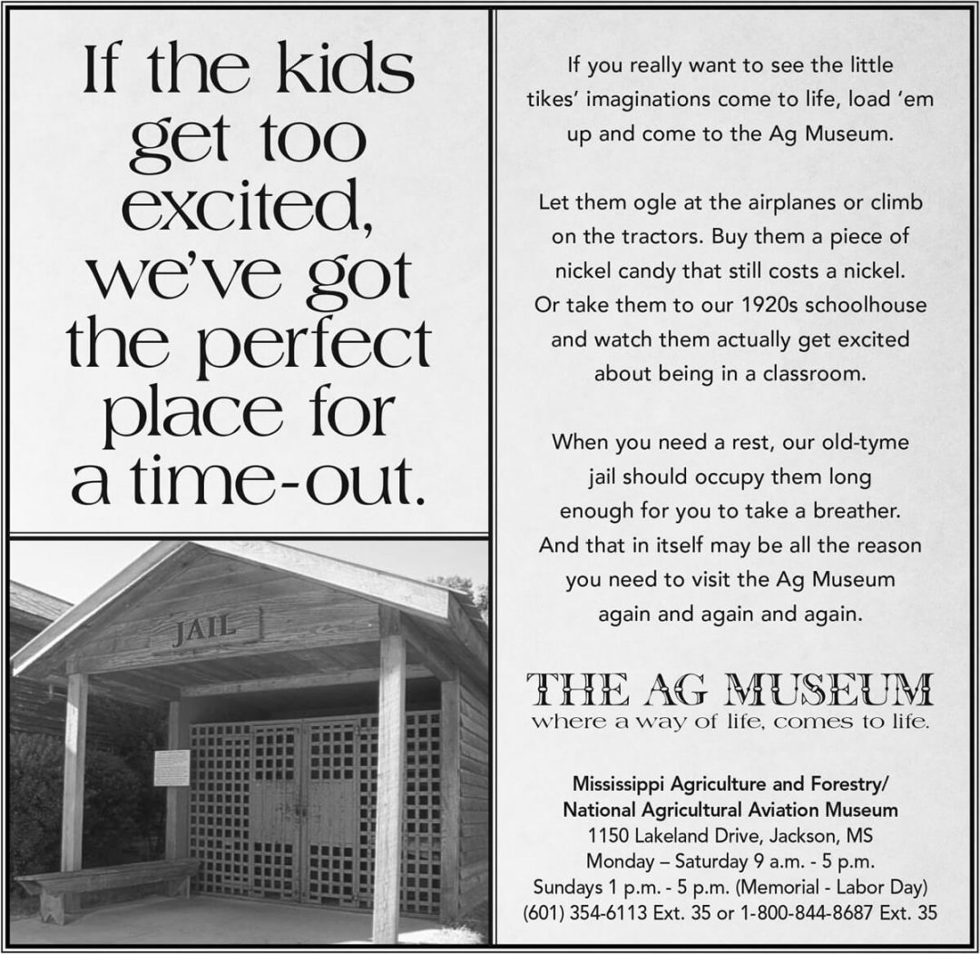 Newspaper Print Ad - The Ag Museum