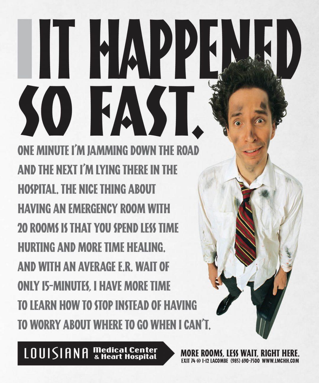 Newspaper Print Ad - Louisiana Medical Center