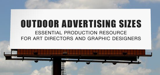 Outdoor Advertising Sizes