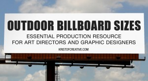 Outdoor Billboard Sizes