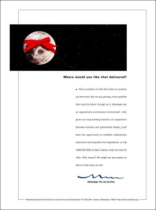 Print Ad: Economic Development Moon