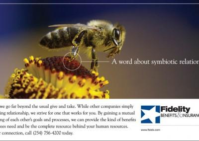 print ad fidelity insurance symbiotic