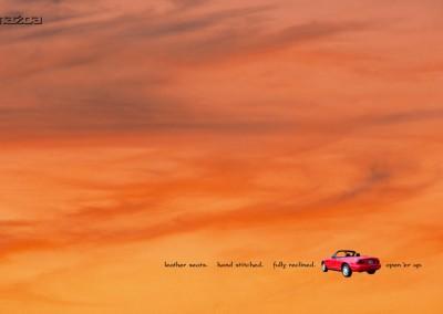 print-ad-mazda-miata-sunset