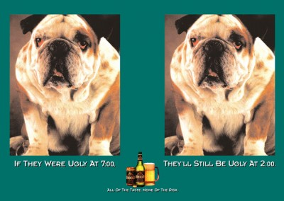 print-ad-odouls-beer-dog