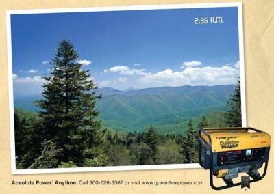 print-ad-queenbee-power-generator