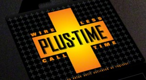 PlusTime Phone Card Design