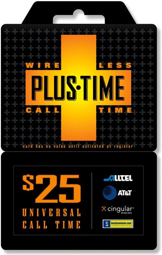 PlusTime Phone Card