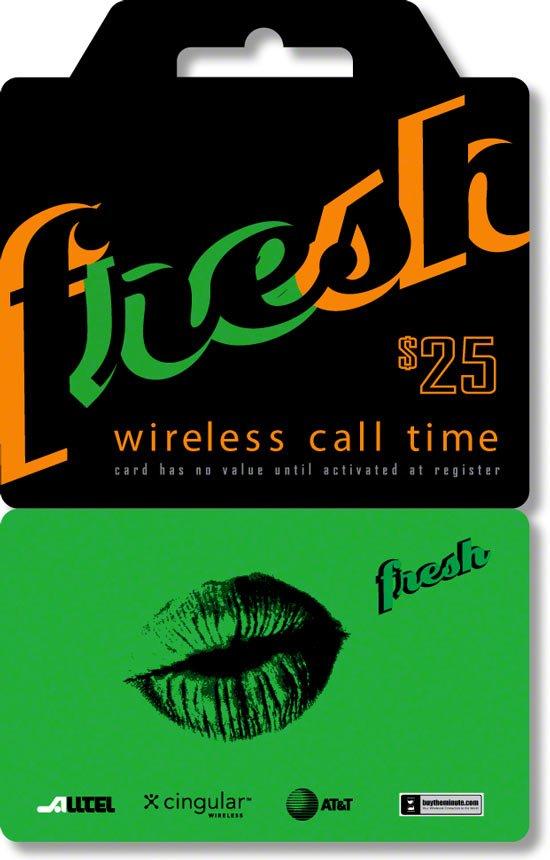 ReFresh - Quest Prepaid Phone Card