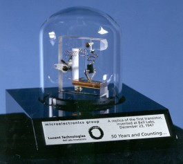 replica of the first transistor